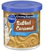 Caramel FROSTING 16 OZ (453g)  Carmel Icing PILLSBURY Salted Caramel Fro... - $5.90