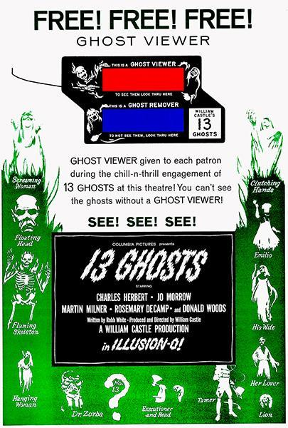 Primary image for 13 Ghosts #2 - 1960 - Movie Poster