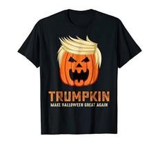 Halloween Trumpkin Funny T-Shirt 2020 President Donald Trump Men's Tee - $12.22+