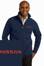 NISSAN Navy Blue Embroidered Port Authority Core Soft Shell Unisex Jacke... - $39.99