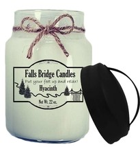 Hyacinth Scented Jar Candle, 26-Ounce, Handle Lid - $16.00
