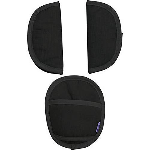 Dooky 3-Piece Strap Covers in Black