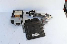 05 Nissan Pathfinder ECU ECM Computer BCM Ignition Switch W/ Key MEC35-753-A1 image 1