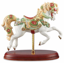 Lenox 2016 Christmas Carousel Horse Figurine Limited Edition Musical Notes New - $214.90
