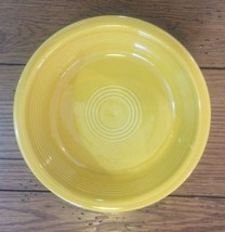 "Homer Laughlin Fiesta Yellow Marigold 7"" Soup B... - $7.80"