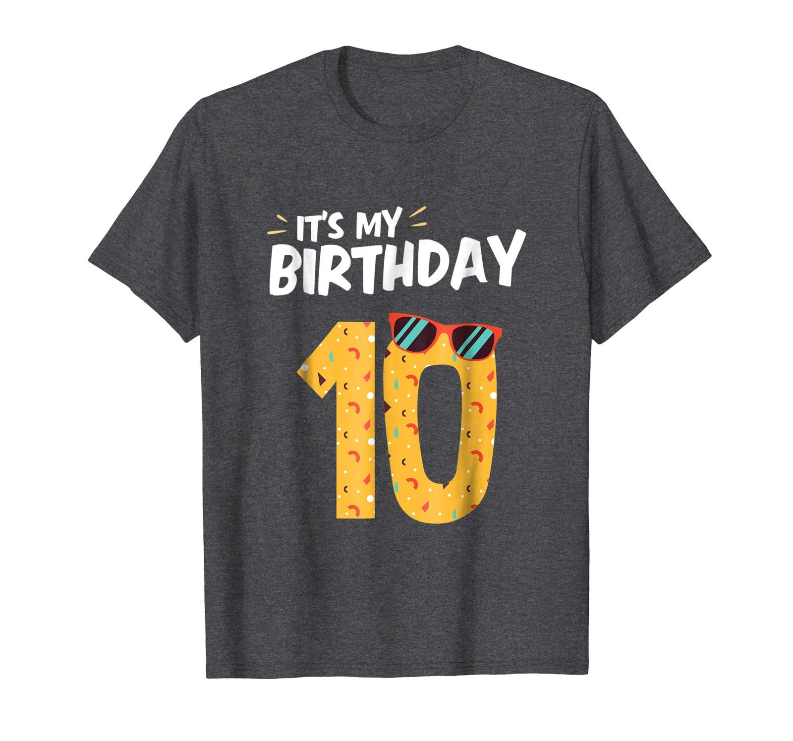 Primary image for Brother Shirts - 10th Birthday Boy Birthday Girl Tee Shirt Bday Gift Apparel Men