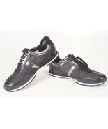 Michael Kors Maggie Black Perforated Mesh Trainer Fashion Sneakers Shoes... - $63.99