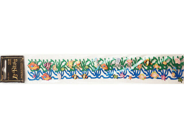 The Paper Studio Sea Life 3-D Border Sticker #78486 for Scrapbooking, Cards