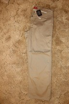 Dickies Girls Stretch Pants Size 18, Waist 40 in. x Inseam 32 in. Khaki - $19.75