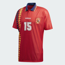 ADIDAS ORIGINALS SPAIN HOME JERSEY FIFA WORLD CUP 1994. - £81.73 GBP