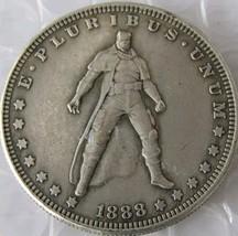 Rare New Hobo Nickel 1888 Dollar Batman Marvel Superhero Disney Casted Coin - $11.99