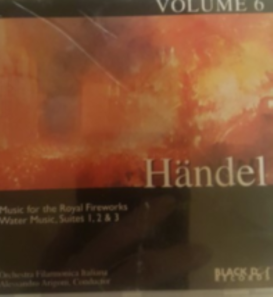Handel volume 6 Water Music Suites 1 & 2  Cd
