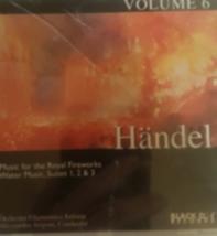 Handel volume 6 Water Music Suites 1 & 2  Cd image 1