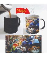 Zootopia Kids Movie Cartoon Heat Reactive Magic Color Change Coffee Mug ... - $15.83