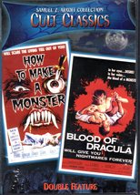 Cult Classic Horror Movies DVD - $9.95