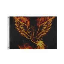 Large Decorative Flag Asian Phoenix Fire Bird Custom Decor Flags - $24.99