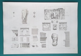 MACEDONIA Greece Architecture Artifacts Arch Gate -  SUPERB 1905 Espouy ... - $16.20