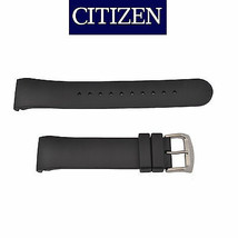 Genuine Citizen 22mm BLACK Rubber Watch Band Strap AT0980-12F AT0980-04B - $51.95