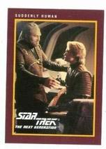 Star Trek The Next Generation card #230 Suddenly Human Endar George Howard aka B - $4.00