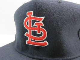 VTG New Era St. Louis Cardinals MLB Baseball Fitted Hat Size 7 3/4 Made in USA image 2