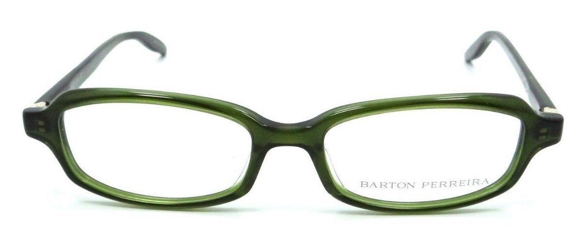 Barton Perreira Nicholette Eyeglasses Frames 49-17-135 Hunter/Gold Women