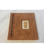 Hand Made Hawaiian Photo Album from Coconut and Grass Paper holds 20 Photos - $29.70