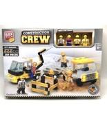 Block Tech Construction City Building Meet The Crew 259 Pieces - $19.79