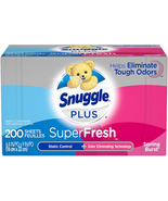 SuperFresh Fabric Softener Dryer Sheets With Static Control And Odor Eli... - $9.65