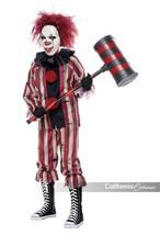 California Trajes Nightmare Payaso Siniestro Niños Disfraz Halloween 00358 - $31.35