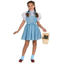 THE WIZARD OF OZ DOROTHY CHILD HALLOWEEN COSTUME GIRLS SIZE LARGE 12-14 - $34.24