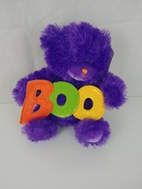 "Sugar Loaf Boo Purple Teddy Bear Plush Halloween 11"" - $6.79"