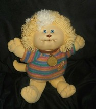 Vintage 1983 Cabbage Patch Kids Koosas Doll Stuffed Animal Plush Toy W/ Shirt G - $26.18