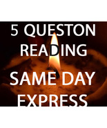 NEW ASK ALBINA TO GAZE INTO HER CRYSTAL BALL 5 QUESTIONS SAME DAY Cassia... - $22.00