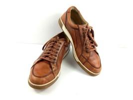 Cole Haan Mens Shoes British Tan Brown Leather Vartan Sport Oxford Sneak... - $44.39