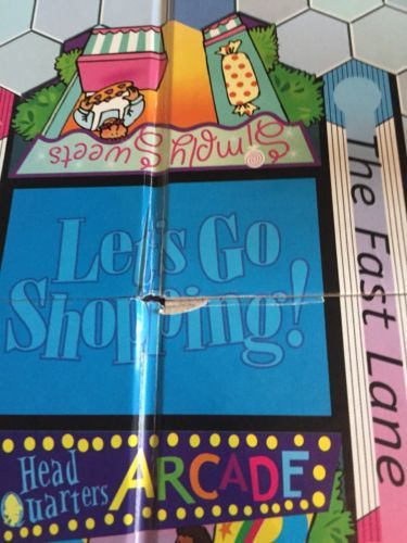 1999 Let\'s Go Shopping Board Game Build and 21 similar items