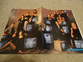Friends ER teen magazine poster clipping Jennifer Aniston Matt Leblanc NBC
