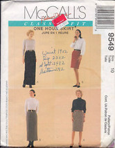 McCall's 9549 Misses' Skirts in 4 Lengths - $1.75