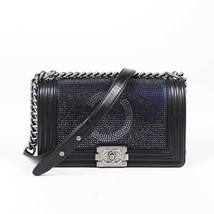 Chanel Medium CC Crystal Boy Bag - $4,710.00
