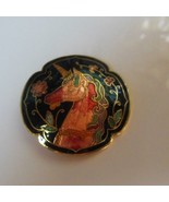 Cloisonne Colorful Unicorn Belt Buckle  - $16.82