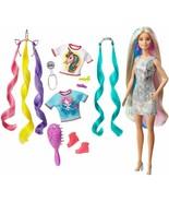 Barbie Pettinato Fantasy Biondo Con Looks Di Sirena E Unicorno (Mattel G... - $228.61