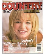 Country America Magazine January 1998 Leann, Mindy, Clay, Buck Owens - $1.75
