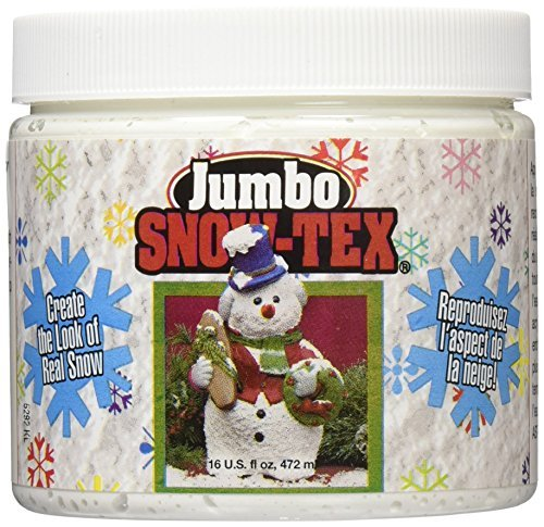 DecoArt DAS9-22 Snow-Tex, 16 -Ounce