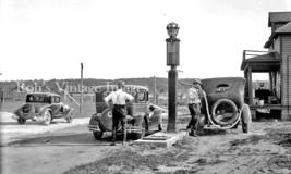 Vintage Old Standard Oil Red Crown Gasoline Service Station 1920s Ford Model T - $8.90