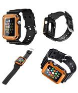 Armor Bumper Case For Apple Watch Series 3 2 1 42mm & Screen Protector O... - $17.58