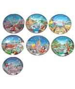 Disney World 25th Anniversary Collector Plate Bradford Exchange - $49.95