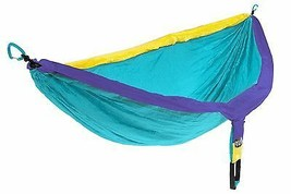 Eagles Nest Outfitters DoubleNest Hammock Yellow/Teal/Purple - $94.32