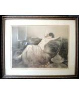 1926 LOUIS ICART (1888-1950)   'SMOKE' (FUMÉE) Untouched With Original F... - $1,234.99