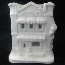 """California Creations Ready-to-Paint Ceramic House """"Antiques"""" 10311 Non-W... - $31.68"""