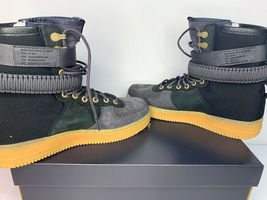 NEW SIZE 9 MEN Nike SF AF1 PRM Air Force SHERPA Fleece Sneakerboots Shoes WINTER image 4