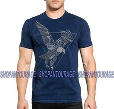 Affliction Predatory Haze A19337 New Short Sleeve Graphic Fashion Tee Fo... - $49.95